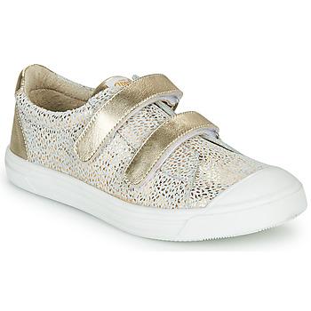 Pantofi Fete Pantofi sport Casual GBB NOELLA Alb / Auriu