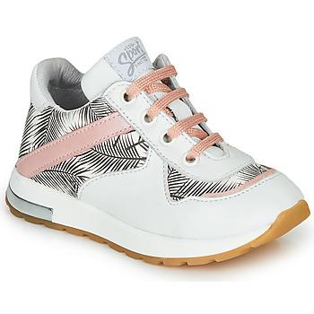 Pantofi Fete Pantofi sport Casual GBB LELIA Alb / Negru / Roz