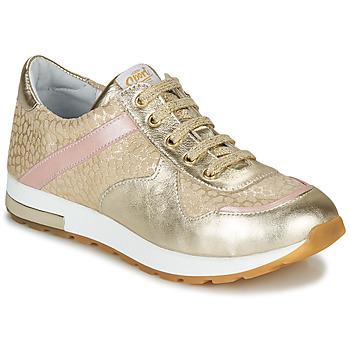 Pantofi Fete Pantofi sport Casual GBB LELIA Bej / Auriu