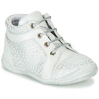 Pantofi Fete Pantofi sport stil gheata GBB OMANE Gri / Alb