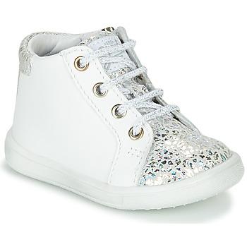 Pantofi Fete Pantofi sport stil gheata GBB FAMIA Alb / Argintiu