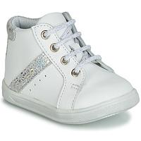Pantofi Fete Pantofi sport stil gheata GBB AGLAE Alb