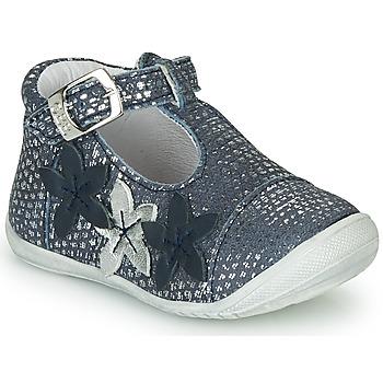 Pantofi Fete Balerin și Balerini cu curea GBB AGATTA Albastru