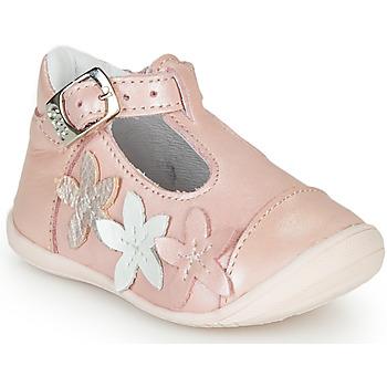 Pantofi Fete Balerin și Balerini cu curea GBB AGATTA Roz