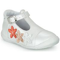 Pantofi Fete Balerin și Balerini cu curea GBB AGATTA Alb