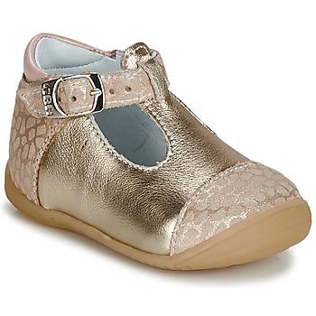 Pantofi Fete Balerin și Balerini cu curea GBB MERTONE Bej