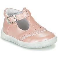 Pantofi Fete Balerin și Balerini cu curea GBB AGENOR Roz