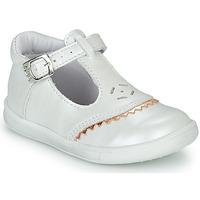 Pantofi Fete Balerin și Balerini cu curea GBB AGENOR Alb