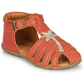 Pantofi Fete Sandale  GBB ANAYA Corai