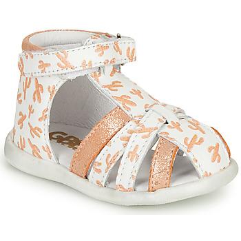 Pantofi Fete Sandale  GBB AGRIPINE Portocaliu