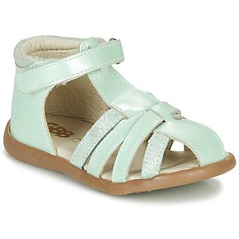 Pantofi Fete Sandale  GBB AGRIPINE Verde