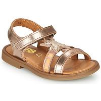 Pantofi Fete Sandale  GBB OLGA Roz / Gold