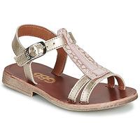 Pantofi Fete Sandale  GBB LAZARO Auriu