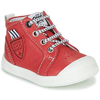 Pantofi Băieți Pantofi sport stil gheata GBB GREGOR Roșu