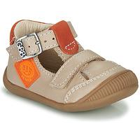 Pantofi Băieți Sandale  GBB BOLINA Bej / Portocaliu