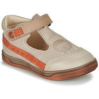 Pantofi Băieți Sandale  GBB ANGOR Bej / Portocaliu