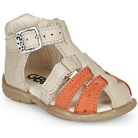 Pantofi Băieți Sandale  GBB BORETTI Bej / Portocaliu