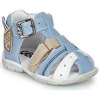 Pantofi Băieți Sandale  GBB BYZANTE Albastru / Gri