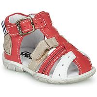 Pantofi Băieți Sandale  GBB BYZANTE Roșu