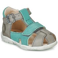 Pantofi Băieți Sandale  GBB SEROLO Gri / Albastru