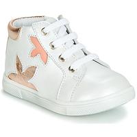 Pantofi Fete Pantofi sport stil gheata GBB ALEXA Alb