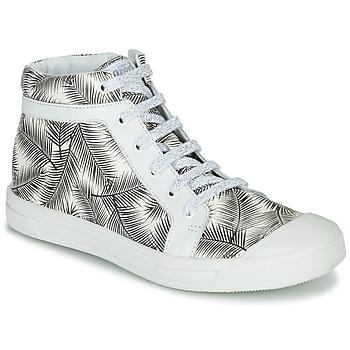 Pantofi Fete Pantofi sport stil gheata GBB NAVETTE Negru / Alb
