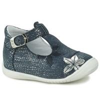 Pantofi Fete Balerin și Balerini cu curea GBB ANAXI Albastru