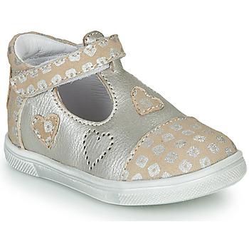 Pantofi Fete Balerin și Balerini cu curea GBB ANISA Bej