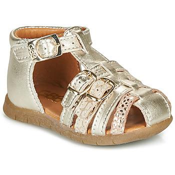 Pantofi Fete Sandale  GBB PERLE Auriu