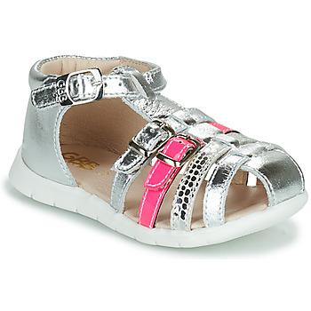 Pantofi Fete Sandale  GBB PERLE Argintiu
