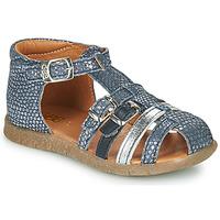 Pantofi Fete Sandale  GBB PERLE Albastru