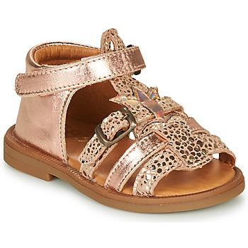 Pantofi Fete Sandale  GBB CARETTE Roz / Gold