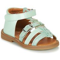 Pantofi Fete Sandale  GBB CARETTE Verde