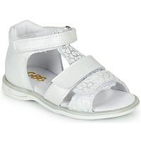 Pantofi Fete Sandale  GBB NAVIZA Alb