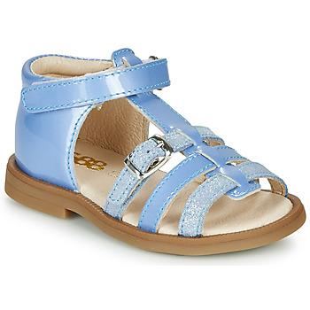 Pantofi Fete Sandale  GBB ANTIGA Albastru