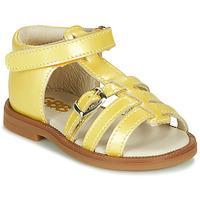 Pantofi Fete Sandale  GBB ANTIGA Galben