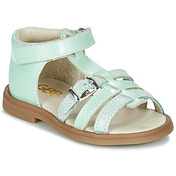 Pantofi Fete Sandale  GBB ANTIGA Verde