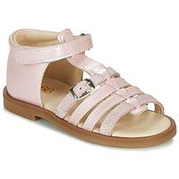 Pantofi Fete Sandale  GBB ANTIGA Roz