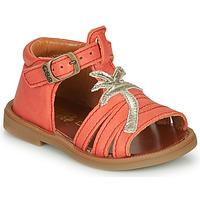 Pantofi Fete Sandale  GBB ARAGA Corai
