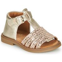 Pantofi Fete Sandale  GBB ATECA Auriu