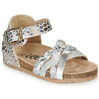Pantofi Fete Sandale  GBB ALECTA Argintiu