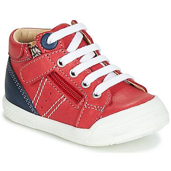 Pantofi Băieți Pantofi sport stil gheata GBB ANATOLE Roșu