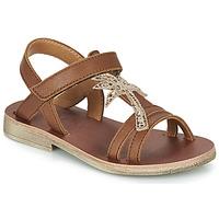 Pantofi Fete Sandale  GBB SAPELA Maro