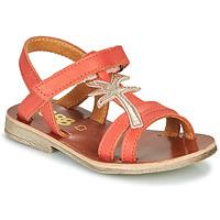 Pantofi Fete Sandale  GBB SAPELA Corai