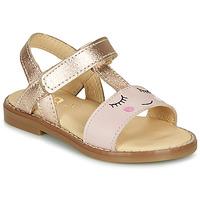 Pantofi Fete Sandale  GBB NAZETTE Roz