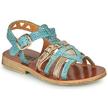 Pantofi Fete Sandale  GBB FANNI Albastru