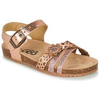 Pantofi Fete Sandale  GBB PANORA Roz / Gold