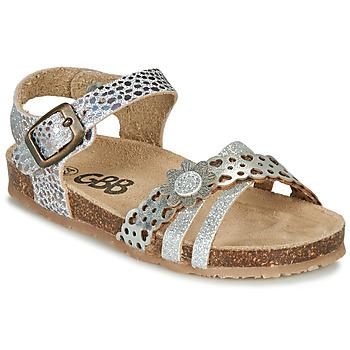 Pantofi Fete Sandale  GBB PANORA Argintiu