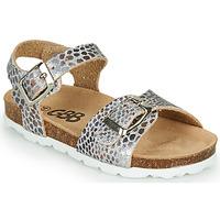 Pantofi Fete Sandale  GBB PIPPA Argintiu