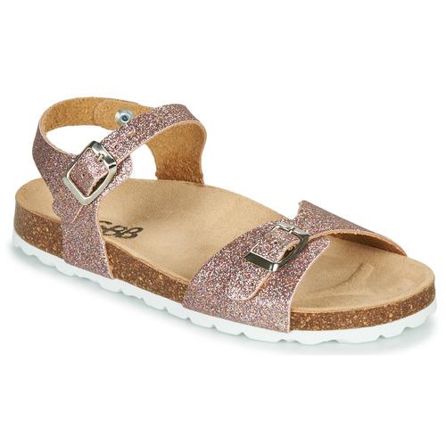 Pantofi Fete Sandale  GBB PIPPA Roz / Gold